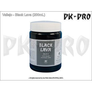 Vallejo-Textur-Black-Lava-(200mL)