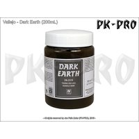 Vallejo-Textur-Dark-Earth-(200mL)