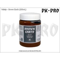 Vallejo-Textur-Brown-Earth-(200mL)