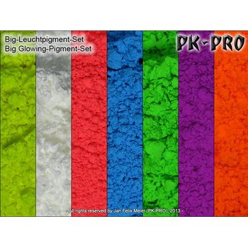 PK-Pigment-Big-Glowing-Pigments-Set-(Daylight-Glowing)