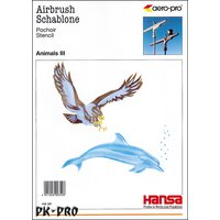 H&S-stencil step by step animals (eagle and dolphin), 1...
