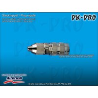 H&S-quick coupling nd. 2.7mm,, with screw socket for...