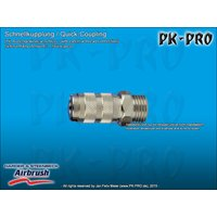 H&S-quick coupling nd 2.7mm, with M5 x 0,45 male thread,...