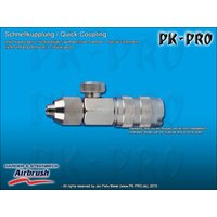 H&S-quick coupling,nd 2.7mm, adjustable,, with screw...