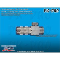 H&S-quick coupling nd 2.7mm, adjustable, with,G1/8 male...