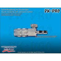 H&S-quick coupling nd 2.7mm, adjustable, with hose nipple...