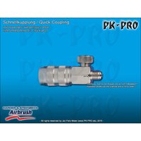 H&S-quick coupling nd 2.7mm, adjustable, with M 5x0,45...