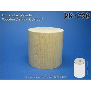 PK-Wooden-Display-Cylinder-H/D 30x30mm