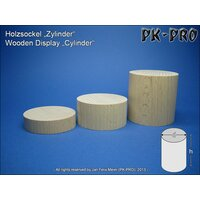 PK-Wooden-Display-Cylinder-H/D 45x45mm