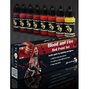 Scale75-Blood-and-Fire-Red-Paint-Set-(8x17mL)