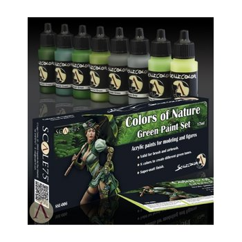 Scale75-Colors-Of-Nature-Green-Paint-Set-(8x17mL)