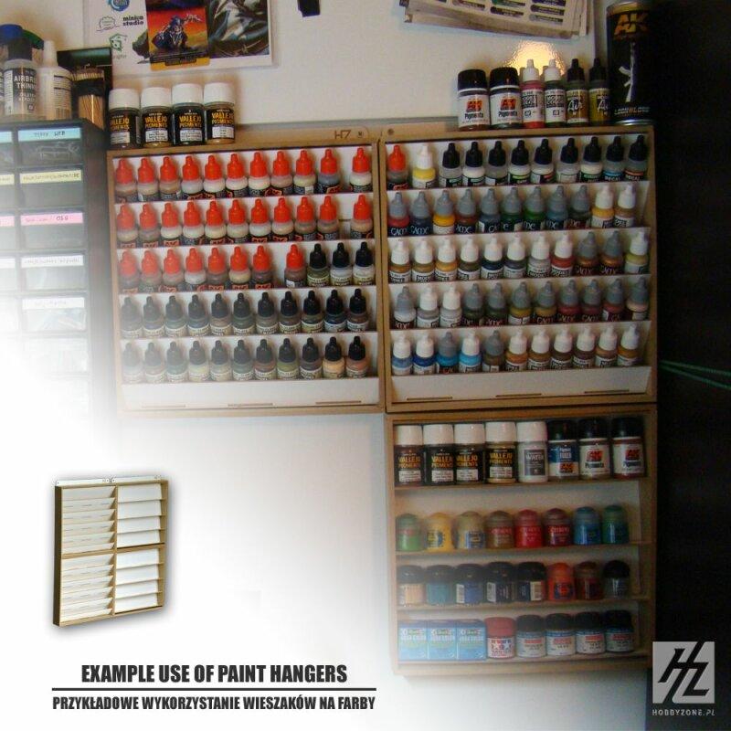 HOBBY ZONE HZ-S3s Paint Hanger For 26mm Jars