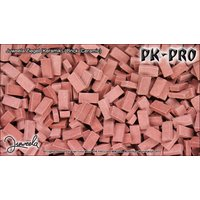 JUW-500-Bricks- Darkred (1:35)