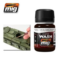A.MIG-1005-Dark-Brown-Wash-For-Green-Vehicles-(35mL)