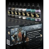 Scale75-Metal-Alchemy-Steel-Paint-Set-(8x17mL)