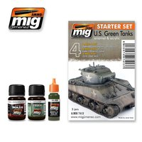 A.MIG-7413-US-Green-Vehicles-Set-(2x35mL+1x17mL)