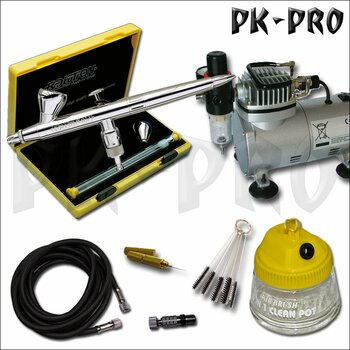 H&S-Evolution-Silverline-2in1+Compressor-AS18-2-Starter-Set