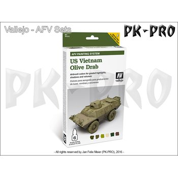 Model-Air-Set-AFV-US-Vietnam-Olive-Drab-Set-(6x8mL)