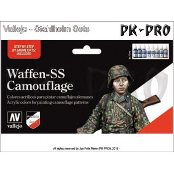 Model-Color-Waffen-SS-Camouflage-Set-(8x17mL)