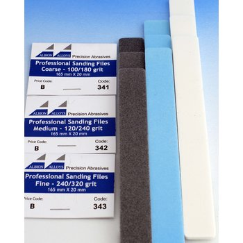 3/4 Profi-Feile - 3er Pack - 165 x 20 mm - Coarse (100)