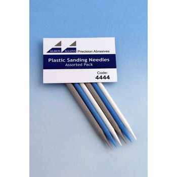 Plastic Sanding Needle - Selection Pack