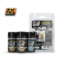 AK-2000-Aircraft-Engine-Effects-Weathering-Set-(3x35mL)