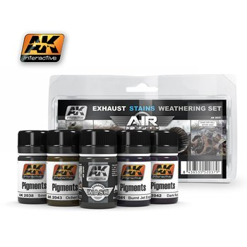 AK-2037-Exhaust-Stains-Weathering-Set-(5x35mL)