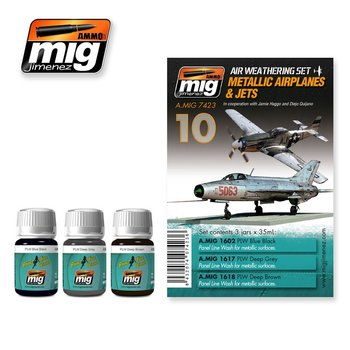 A.MIG-7423-Metallic-Airplanes & Jets-(3x35mL)