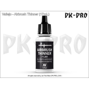 Vallejo-Airbrush-Verdünner-(Thinner)-(17mL)-(neue-Formel)