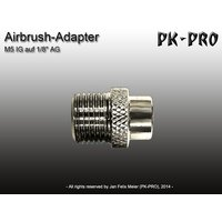 PK-Aurbrush-Adapter-M5 IG to 1/8 AG