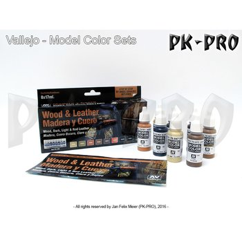 Vallejo-Model-Colour-Wood-&-Leather-Set-(8x17mL)