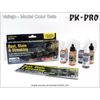 Vallejo-Model-Colour-Staining-Rust-&-Streaking-Set-(8x17mL)
