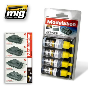 A.MIG-7001-Dunkelgrau-Modulation-Set-(4x17mL)