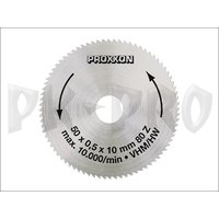 Solid carbide saw blade, 50 mm diameter (80 teeth)