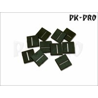 25mm x 25mm Bases Cross Slotted (Magnet-Slot + offener...