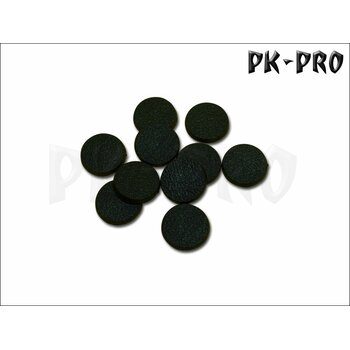 25mm rund Bases (Magnet-Slot  + optionaler Miniatur-Slot)-(10x)