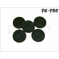 40mm rund Bases (Magnet-Slot + 3x Bolt + optional...