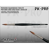 DaVinci-Red-Sable-Water-Colour-Brush-Series-36-3/0