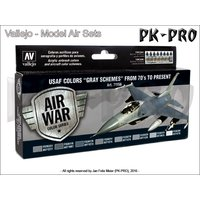 Model-Air-Set-USAF-ColorsGray-Schemes-from-70s-to-p.-(8x1...