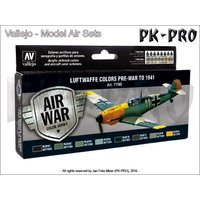 Model Air Set Luftwaffe Pre-War to 1941 (8x17ml)