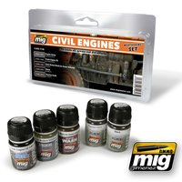 A.MIG-7146-Civil-Engines-Weathering-Set-(4x35+1x17mL)