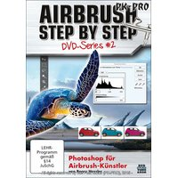 Airbrush STEP BY STEP DVD-Photoshop for Airbrush-Künster...
