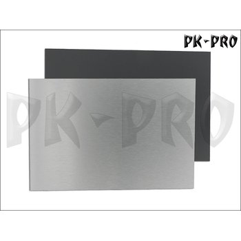 Aluminum-Bonded-Panels 3mm brushed metal / anthracite 20cm x 30cm