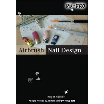 Airbrush Nail Design - with German text (Roger Hassler)